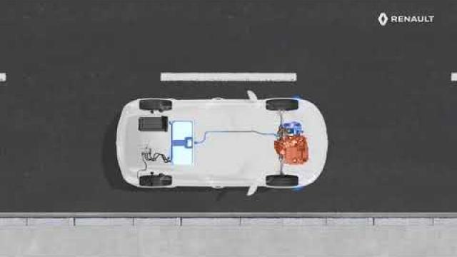 E-TECH PLUG-IN HYBRID - La fonctionnalité E-Nav