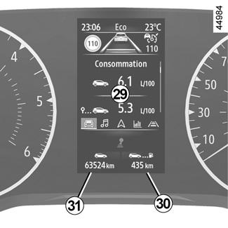 E Guide Renault Com Clio 5 Afficheurs Et Indicateurs