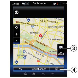 e guide renault com r link2 navigation entrer une destination. Black Bedroom Furniture Sets. Home Design Ideas